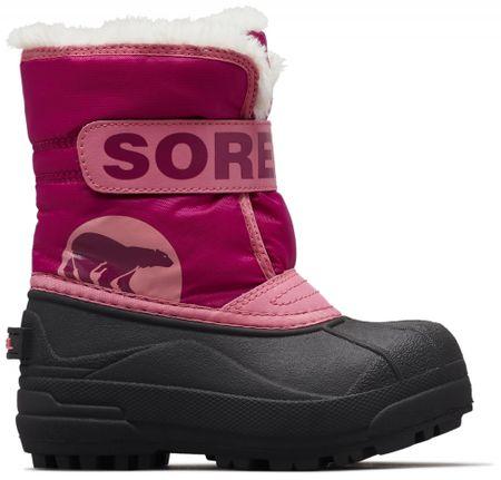Sorel dívčí sněhule SNOW COMMANDER™ 22 růžová  ea7e30d73b
