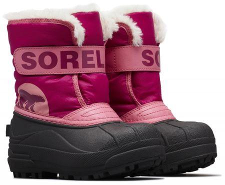Sorel dívčí sněhule SNOW COMMANDER™ 30 růžová  20207d440b