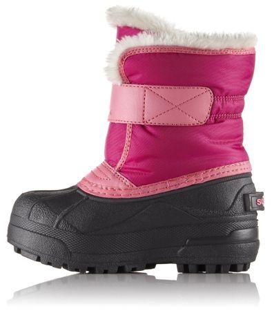 Sorel dívčí sněhule SNOW COMMANDER™ 28 růžová  b21f628312