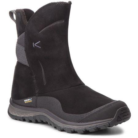 KEEN Winterterra Lea Boot Wp W Black/Raven cipő 38