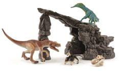 Schleich Jaskinia z dinozaurami 41461