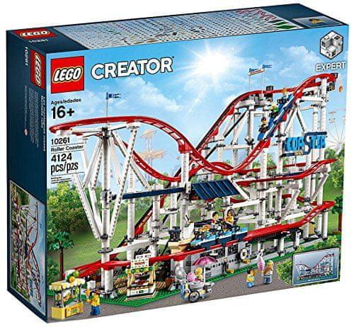 LEGO Creator Expert 10261 Roller Coaster - Odprta embalaža