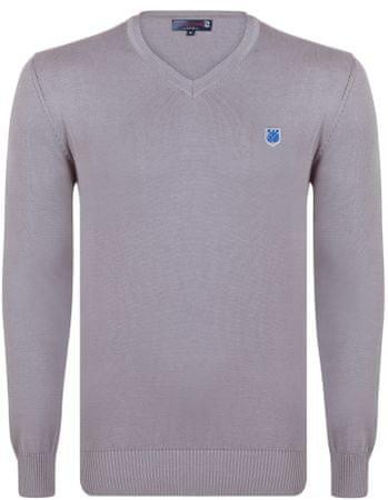 Giorgio Di Mare moški pulover, L, siv