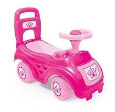 DOLU Rózsaszín játékautó háttámlával