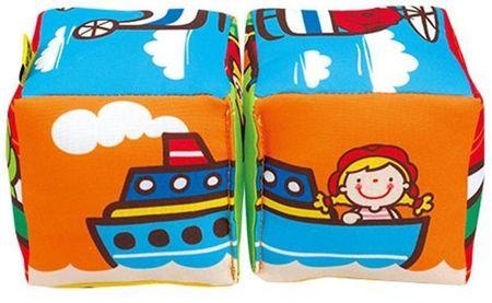 K´s Kids Szórakoztató textil kockák – Autók