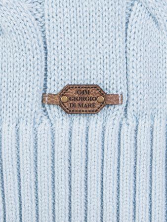 05a79805b97 Giorgio Di Mare pánský svetr XXXL světle modrá
