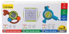 K´s Kids zestaw 3 zabawek rozwojowych - stopień 3