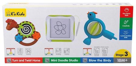 K´s Kids set 3 razvojnih igrač - razred 3