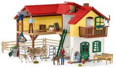 Schleich velika hiša na kmetiji 42407