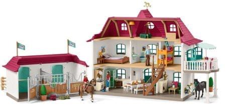 Schleich Nagy ház, istálló és kiegészítők 42416
