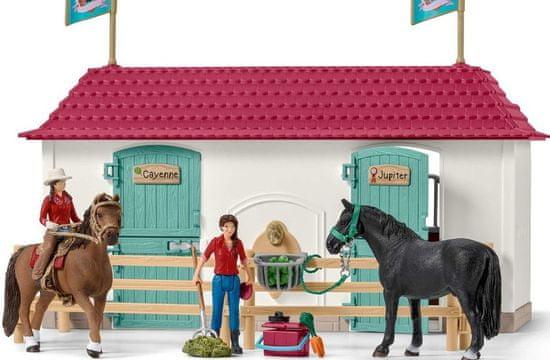 Schleich Duże centrum jeździeckie Horse Club, 42416