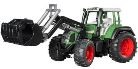 BRUDER Farmer - Fendt Favorit 926 Vario Traktor Homlokrakodóval