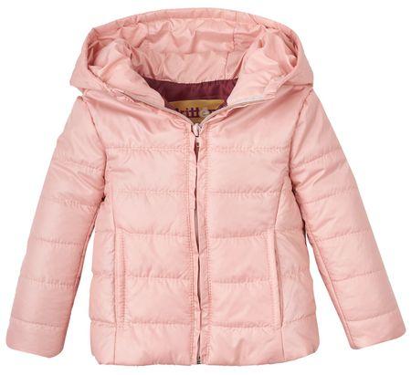 Garnamama Dívčí sbalitelná bunda s batůžkem 92 - 98 růžová