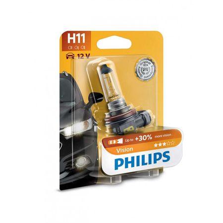 Philips avtomobilska žarnica Vision H11, 12V, 55W