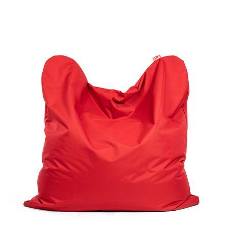 TULI Sedací vak Smart polyester tmavá červená
