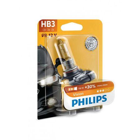 Philips automobilska žarulja Vision HB3, 12V, 65W