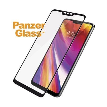 PanzerGlass zaščitno steklo za LG G7 ThinQ in LG G7+, črno