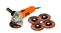Black+Decker električni kotni brusilnik KG115A5