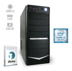 mimovrste=) namizni računalnik Thunder3 i3-7100/4GB/SSD240GB/FreeDOS (ATPII-CX3-7728)