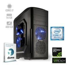 mimovrste=) namizni računalnik Ultimate Gamer2 i7-8700/16GB/SSD480GB/GTX1070/FreeDOS