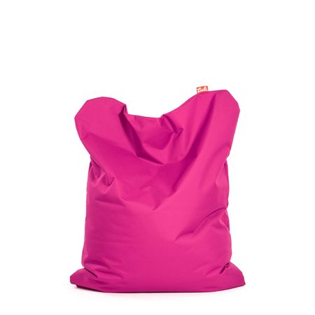 TULI Sedací vak Funny polyester ružová