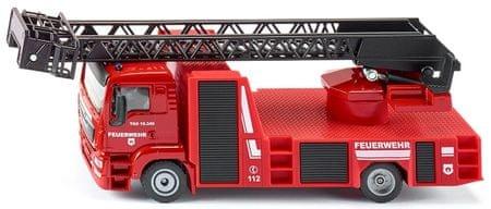 SIKU Super - MAN tűzoltó forgatható létrával