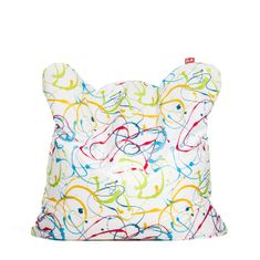 TULI Sedací vak Smart polyester vzor fŕkaná