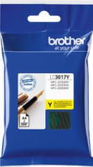 BROTHER Atrament yellow LC3617Y