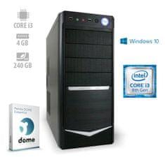mimovrste=) namizni računalnik Office4 i3-8100/4GB/SSD240GB/W10P (ATPII-CX3-7729)