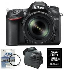 Nikon komplet fotoaparat D7200 kit 18-105VR + Fatbox + filter