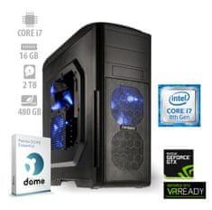 mimovrste=) namizni računalnik Top Gamer i7-8700/16GB/SSD480+2TB/GTX1060/FreeDOS