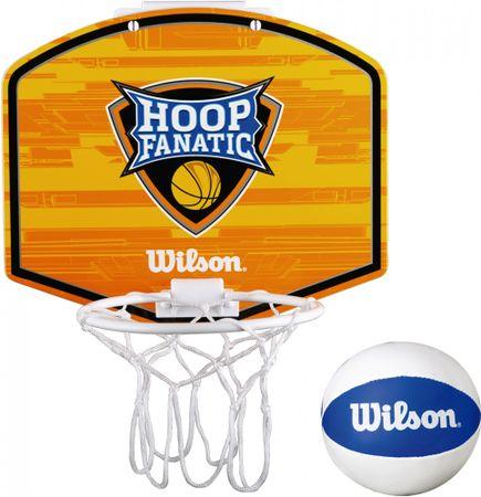 Wilson dziecięcy zestaw do koszykówki Mini Hoop Fanatic Basketball Kit