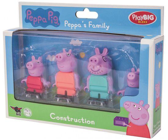 BIG igrače PlayBig BLOXX Peppa Pig figurice družine