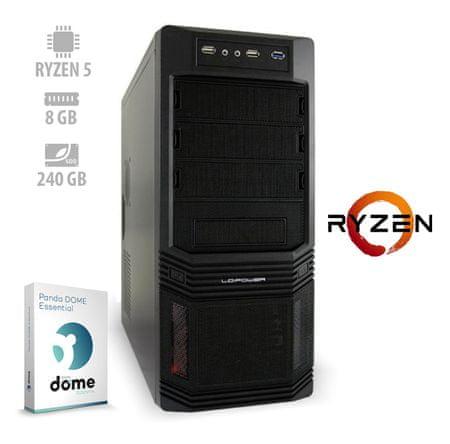 mimovrste=) namizni računalnik Responsive Ryzen5/8GB/SSD240GB/FreeDOS