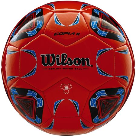 Wilson piłka nożna Copia II Sb Orange Blue Size 5