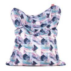 TULI Sedací vak Sofa polyester vzor Pastel
