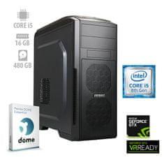 mimovrste=) namizni računalnik Zver2 i5-8400/16GB/SSD480GB/GTX1060/FreeDOS (ATPII-PF7G-7734)