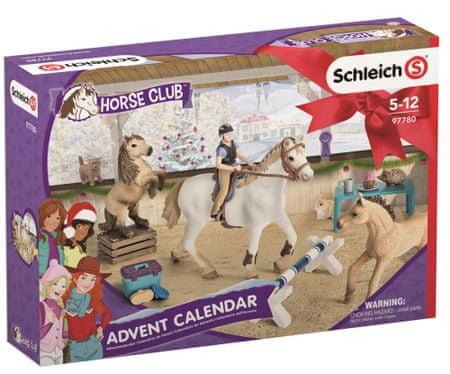 Schleich Adventní kalendář 2018 - Koně - rozbaleno
