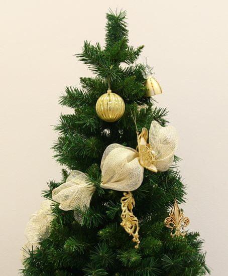 Seizis dekoracyjna siatka 54 x 914 cm, kremowo-złota