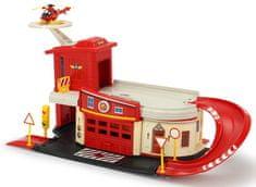 Dickie gasilec Samo in gasilska postaja