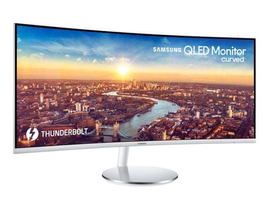 Samsung C34J791WTR monitor, 86,4 cm (34), Ultra WQHD, VA, 4 ms, 100 Hz, ukrivljen