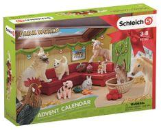 Schleich kalendarz adwentowy 2018 - Zwierzęta domowe