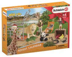 Schleich adventni koledar 2018, Divje živali
