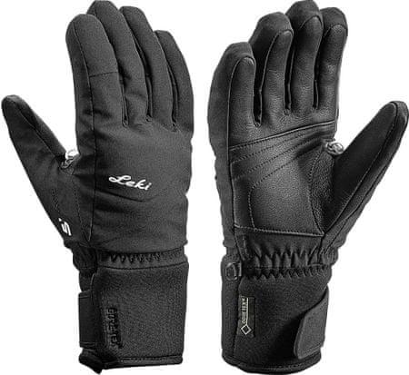 Leki ženske smučarske rokavice Shape S Lady, 6,5, črne