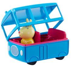 TM Toys Peppa Pig - školní autobus s figurkou