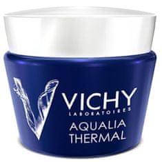 Vichy Aqualia Thermal Night Spa intenzív éjszakai arckrém a fáradtság jeleinek csökkentésére (Replenishing