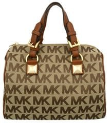 Michael Kors Kabelka Grayson Light Brown Monogram 38T5YGYS2J