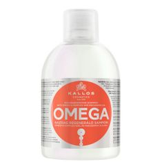 Kallos Regenerační šampon s omega-6 komplexem a makadamia olejem (Omega Hair Shampoo) 1000 ml