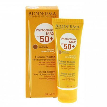 Bioderma Tonovaný krém pro citlivou pokožku SPF 50+ Photoderm MAX (Tinted Cream Very Hight Protection) 40 ml