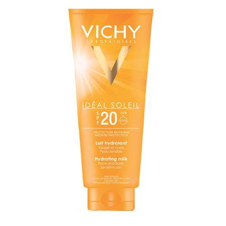 Vichy Mleczko nawilżające SPF 20 Idéal Soleil (mleko nawilżający) 300 ml